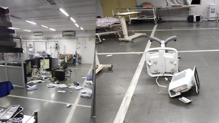 hospital attack