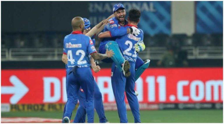 IPL 2020 :दिल्ली कॅपिटल्स संघाचा रॉयल चॅलेंजर्स बंगळुरु संघावर ५९ धावांनी विजय