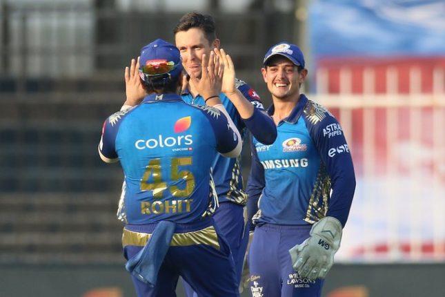 IPL 2020 : मुंबईची हैद्राबादवर ३४ धावांनी मात