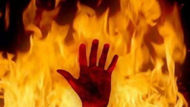 दुकानाला आग : एका कामगारांचा जागीच मृत्यू ; निगडीतील यमुनानगर येथील घटना