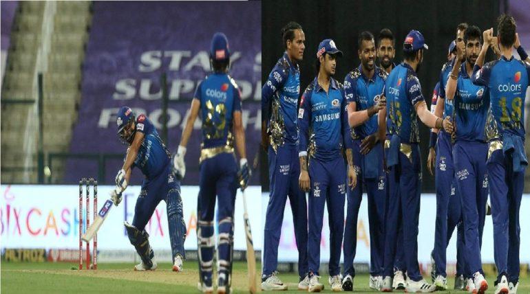 रोहित शर्माची धमाकेदार फलंदाजी, मुंबई इंडियन्सची किंग्ज इलेव्हन पंजाबवर ४८ धावांनी मात