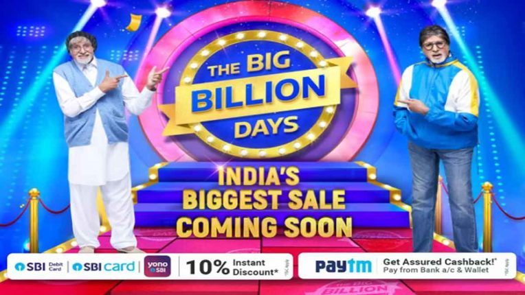 flipkart to host the big billion days sale from oct 16 21
