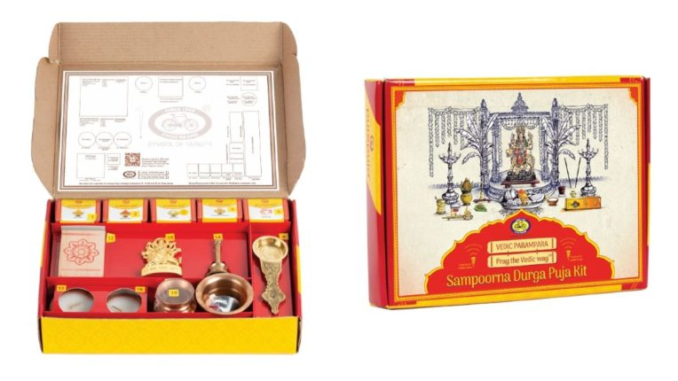 Vedic Complete Durja Puja Kit Presented by Cycle Pure Agarbatti on the occasion of Navratri