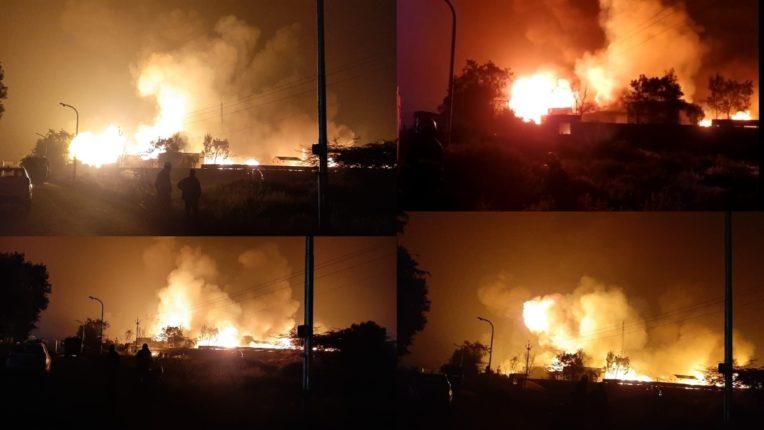 fire brokeout at shivshakti chemical company in kurkumbh midc area