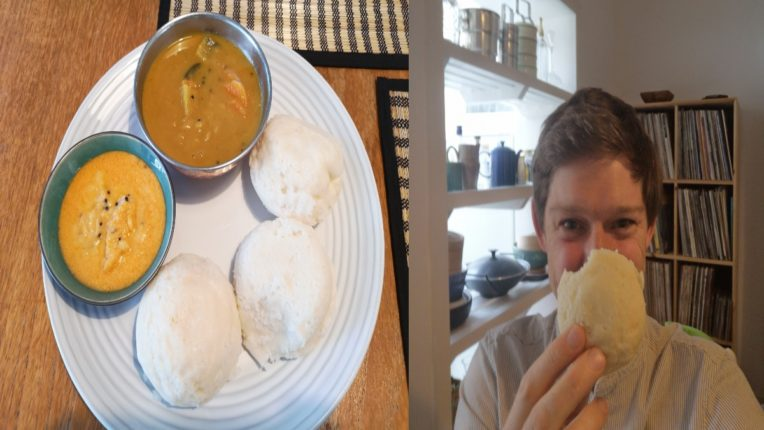 indian Idli war on twitter with Edward Anderson