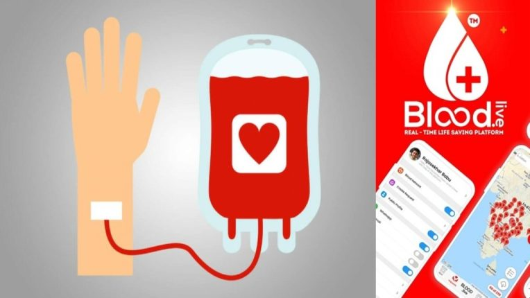 Blood Dot Lives free initiative to collect blood through moblie app