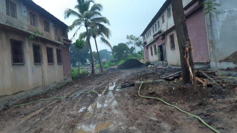 Unauthorized construction in Chinchoti is harmful to the environment Neglect of Vasai Virar City municipal Corporation