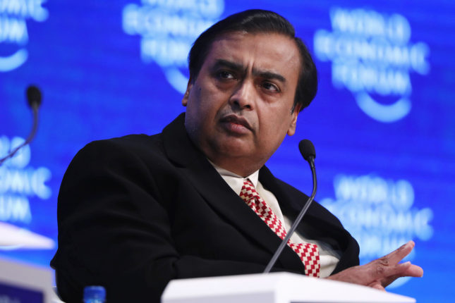 forbes india rich list 2020 reliance mukesh ambani tops for 13th consecutive time