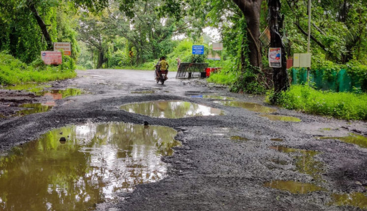 vikramgad potholes