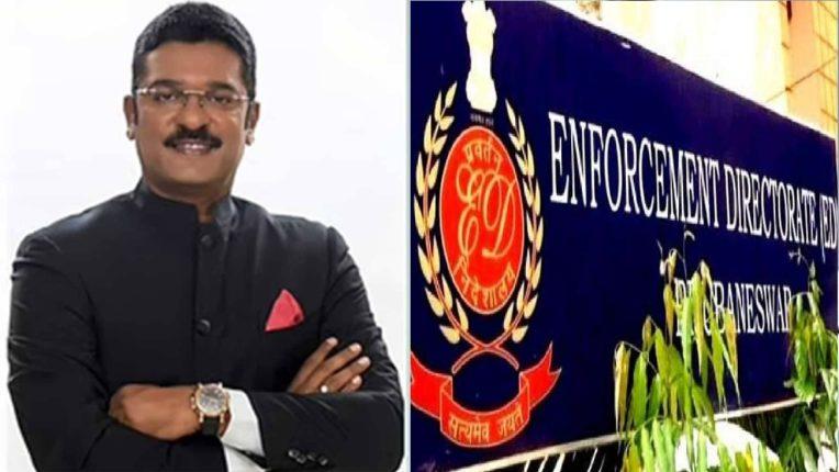 ED team arrives at Shiv Sena MLA Pratap Saranaik's house,