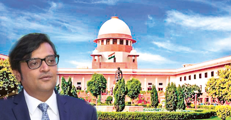 Supreme Court reassures Arnab Goswami; Order the police to execute immediately