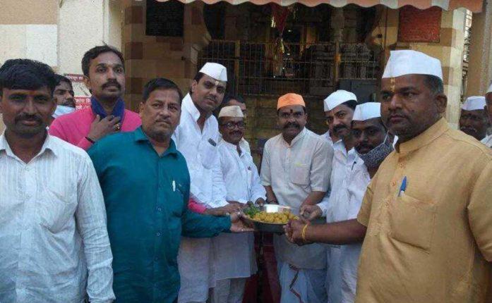 celebration in pandharpur