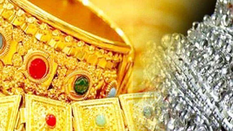 सोन्याचे भाव वधारले तर चांदीत झाली घसरण, जाणून घ्या काय आहेत आजचे दर?