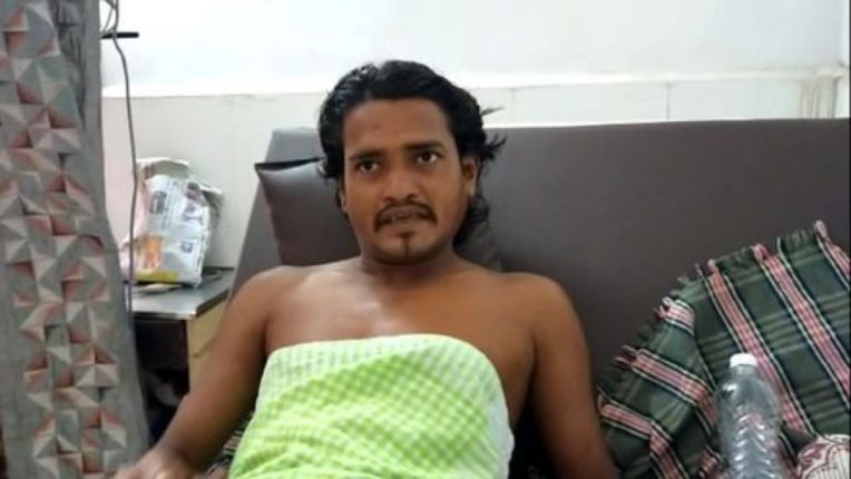grandfather fired bullet bymistake hit the grandson in mahad