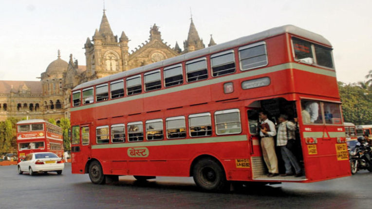 automatic door double decker buses available in best for mumbaikers