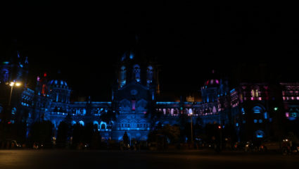 Nanavati Super Speciality Hospital lights up CSMT in blue as a part of the global campaign with World Health Organisation