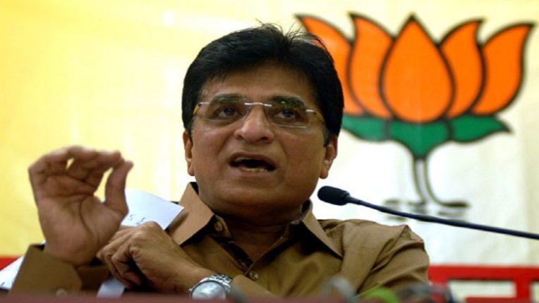 Kirit Somaiya wishes Shiv Sena leaders a happy Diwali