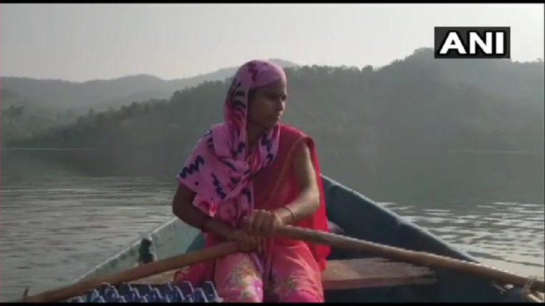 Relu Vasave Anganwadi worker from Nandurbar rows 18 kilometres everyday to interior villages