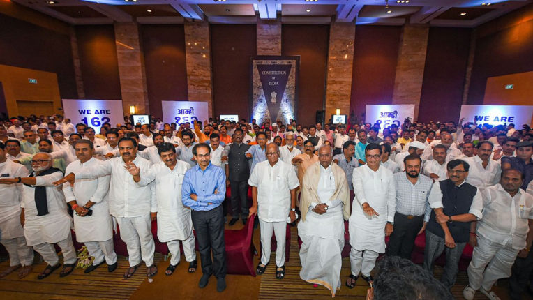 uddhav thakre with all ministers