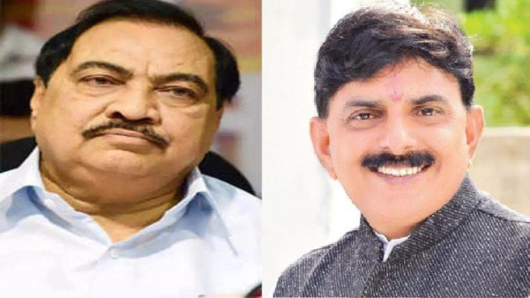 BJP MLA Sanjay Saavkare hints at returning home, photos of Mahajan and BJP leaders disappear in advertisements