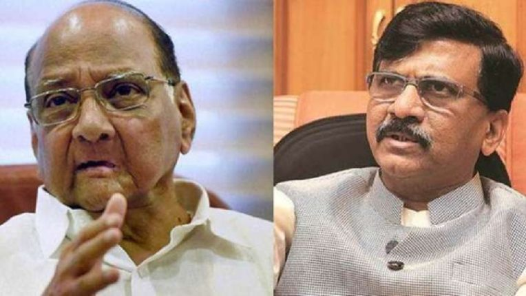 If Sharad Pawar becomes the president of UPA, it is a matter of happiness for us, Sanjay Raut's big statement