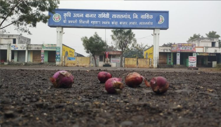 One-day symbolic strike of Mathadi workers, onion and grain auctions in market committees closed, turnover of Rs 25-30 crore halted