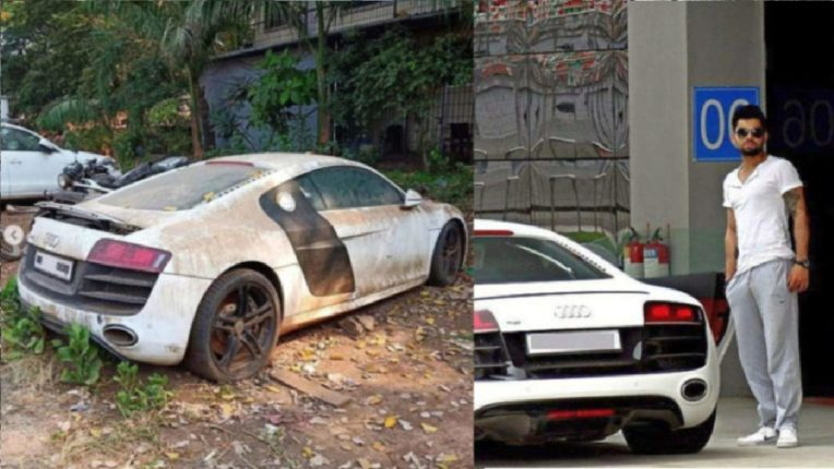 Virat Kohli's Alishan car fell out of the police station, ate dust and was confiscated