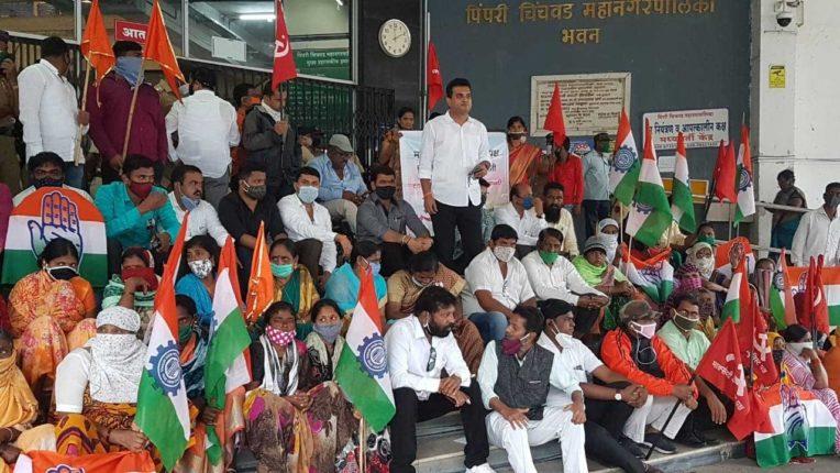 फडणवीस महाराष्ट्र द्रोही, गोयल दानवे शेतक-यांची माफी मागा: डॉ. कैलास कदम
