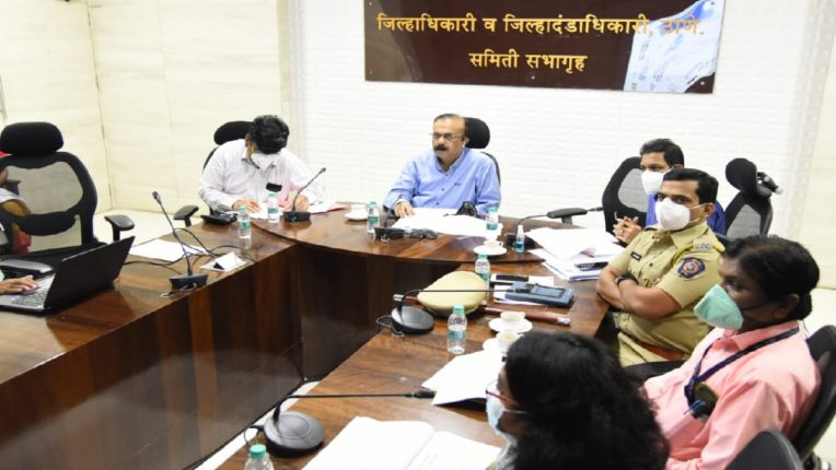 Administration ready for corona vaccination in the district, District Collector Rajesh Narvekar reviewed the preparations