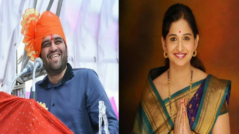 Harshvardhan Jadhavs exit from politics wife Sanjana Jadhavs entry into politics from Gram Panchayat elections