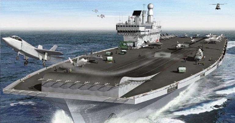 Queen Elizabeth warships