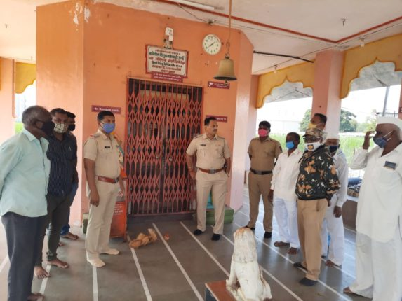 माळेगाव येथील भवानीमाता मंदिरातील दान पेटीवर चोरट्यांचा डल्ला