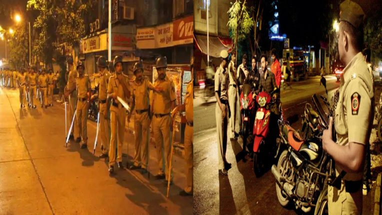 Mumbai police cracks down on all-out operation,