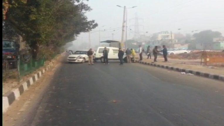 Firing between Delhi Police and terrorists,