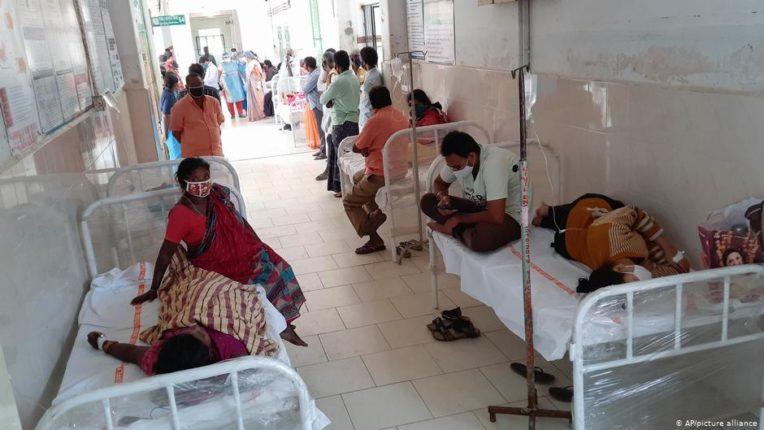 Outbreak of unknown disease in Andhra Pradesh
