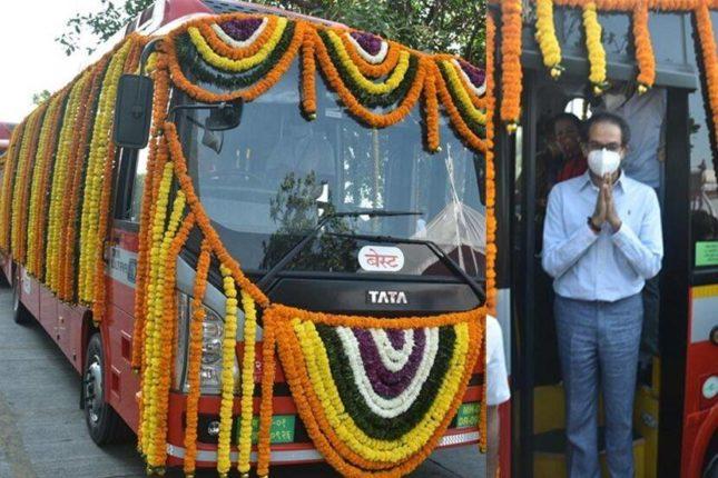 बेस्टच्या पर्यावरणपूरक २६ एसी इलेक्ट्रीक बसेस मुंबईकरांच्या सेवेत; दिव्यांगांसाठी लिफ्टची सुविधा