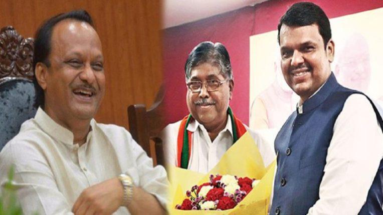 Ajit Pawar's criticism of Devendra Fadnavis and Chandrakant Patil