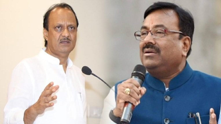 I accept your challenge, knock me down; Ajit Pawar and Sudhir Mungantiwar are at loggerheads