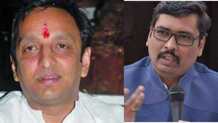 काँग्रेस नेते सचिन सावंत आणि भाजपाचे मुख्य प्रवक्ते केशव उपाध्ये