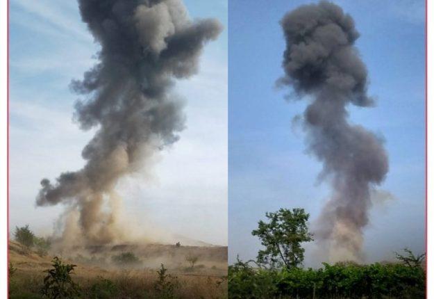 सांगली : तासगावच्या पूर्व भागात बस्तवडे गावाजवळील डोंगरात भीषण स्फोट! एकाचा मृत्यू तर २ जण गंभीर जखमी