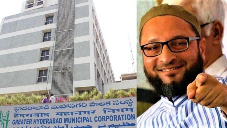 हैदराबाद मनपा आणि एआयएमआयएमचे खासदार असदुद्दीन ओवेसी
