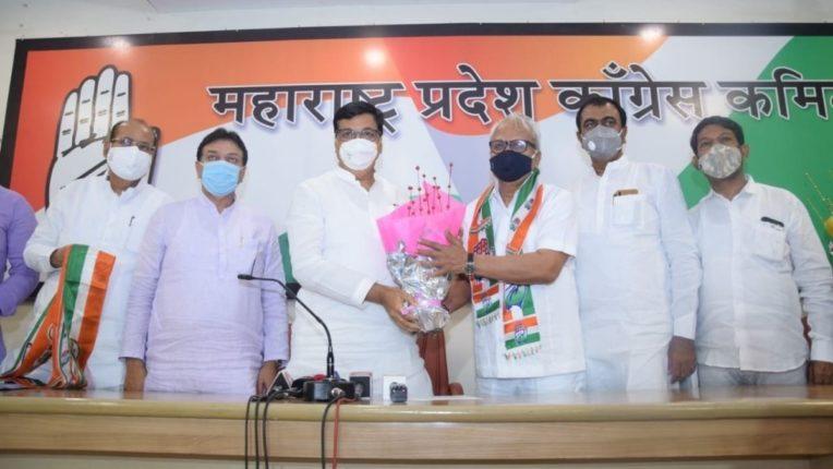 महाराष्ट्र प्रदेश काँग्रेस कमिटीचे अध्यक्ष तथा महूलमंत्री बाळासाहेब थोरात