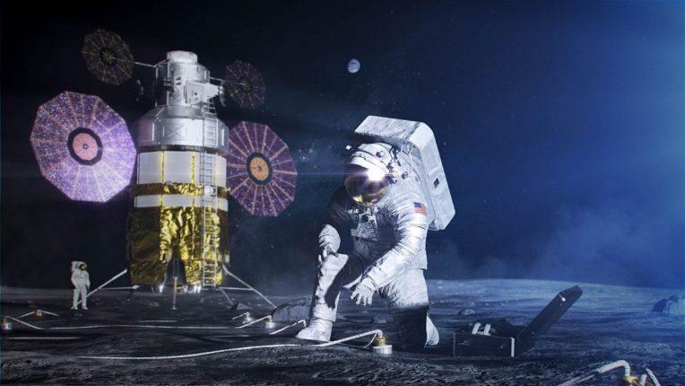 चांद्रमोहिमेचे चित्र