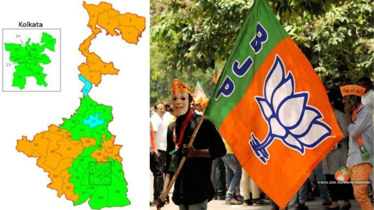 प. बंगालची निवडणूक रणधुमाळी : भाजप पूर्ण ताकदिनीशी लढणार विधानसभा निवडणूक
