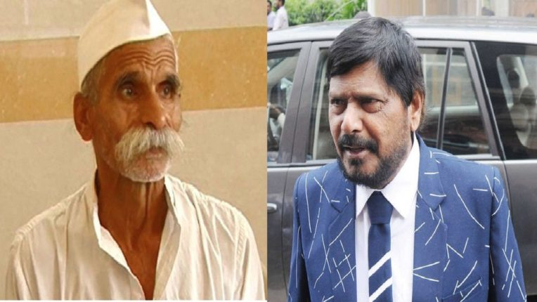 Ramdas Athavale demands arrest of Sambhaji Bhide