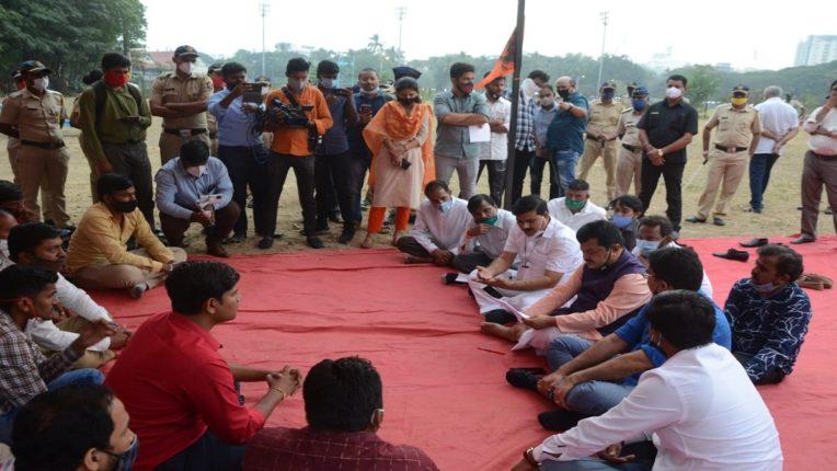 Don't try to suppress the agitation of Maratha community otherwise ... Pravin Darekar's warning