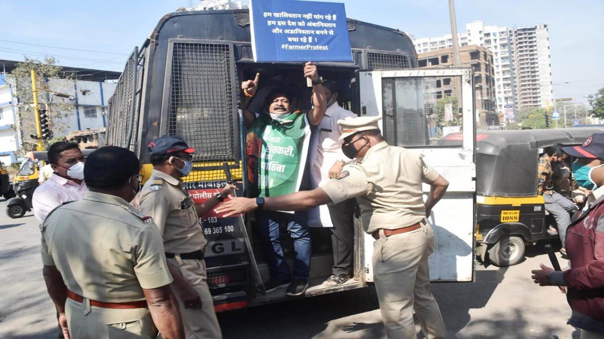 bharat band arrest in kalyan