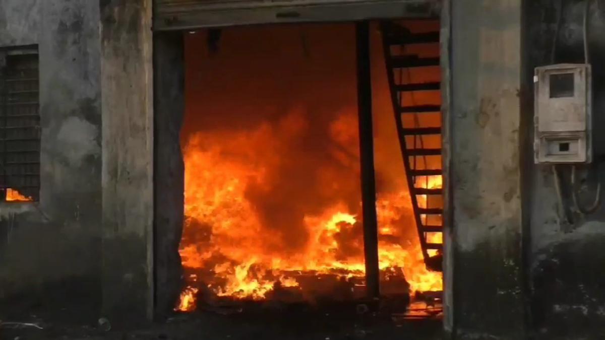 bhivandi dying mill fire