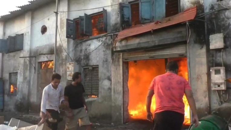 bhivandi fire