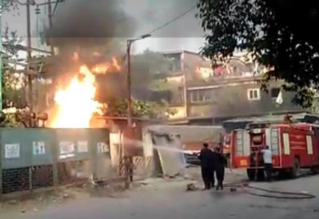 bhivandi transformer fire